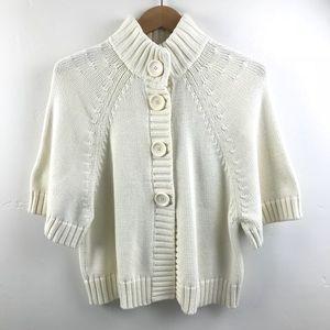 Michael Kors Snap Button Cardigan swing Sweater